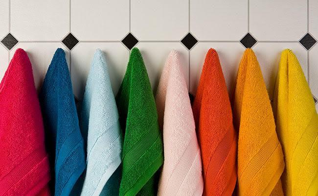 Hãy vứt ngay những chiếc khăn mặt bị nhớt